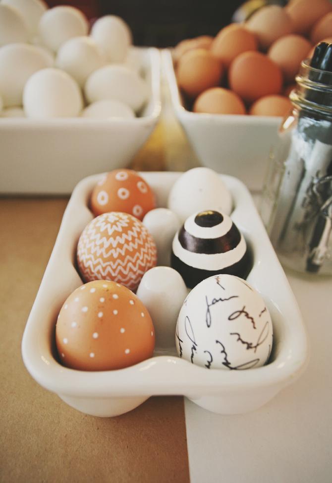 Vackra ägg